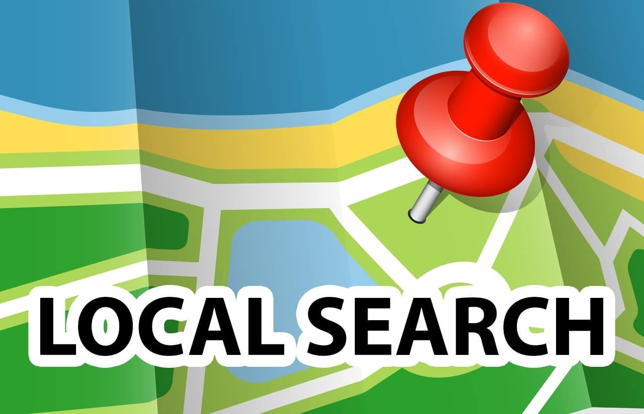Google Snack Pack local search results